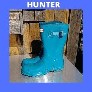 Womens boots Hunter Rainboots Size 8